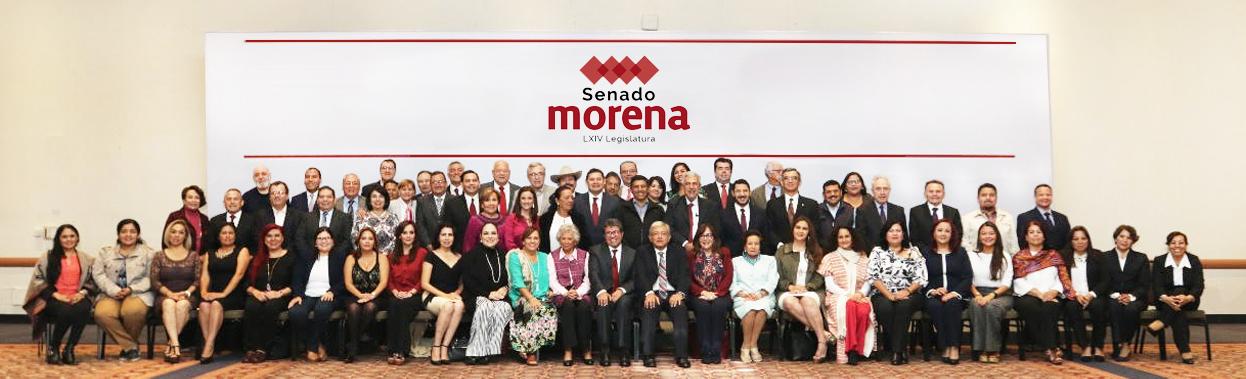 Senadores Morena