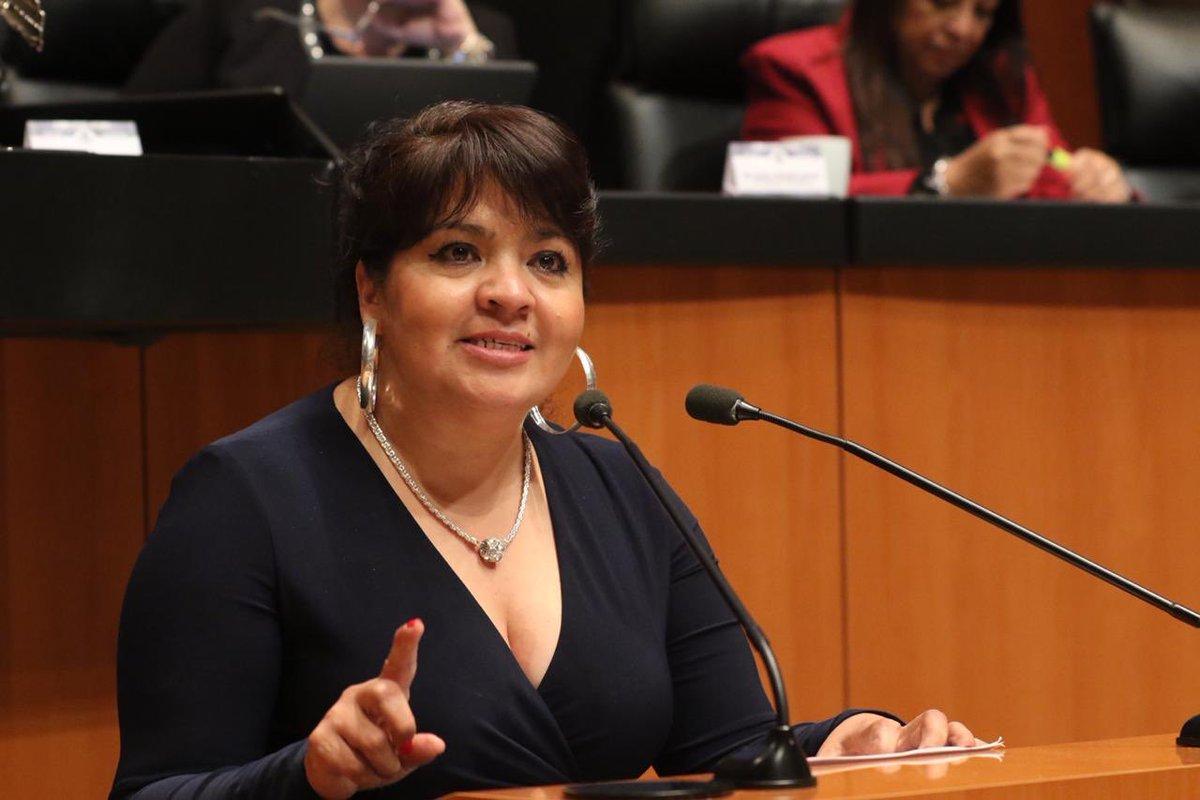 Nestora Salgado da positivo al COVID, segunda senadora en contagiarse